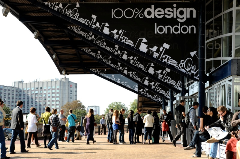 100-percent-design Zigzag to Exhibit Unique Sculptural Balustrades at 100% Design 2014
