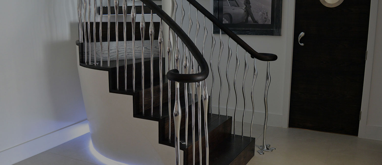 Bespoke balustrades and staircase designs re-imagined – all available to view in our new website
