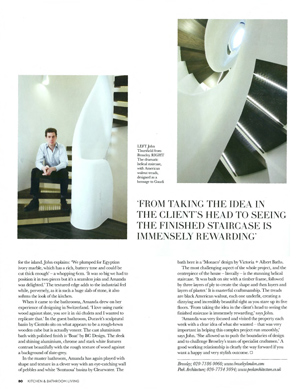 chelsea staircase house and garden magazine
