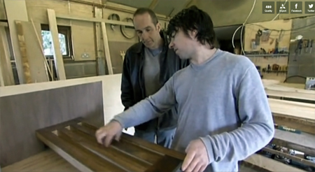Nick Burborough and Kevin McCloud 2 450 Grand Designs