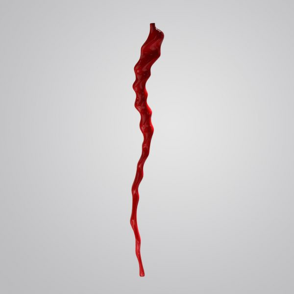Oryx Spindle - Coated Red