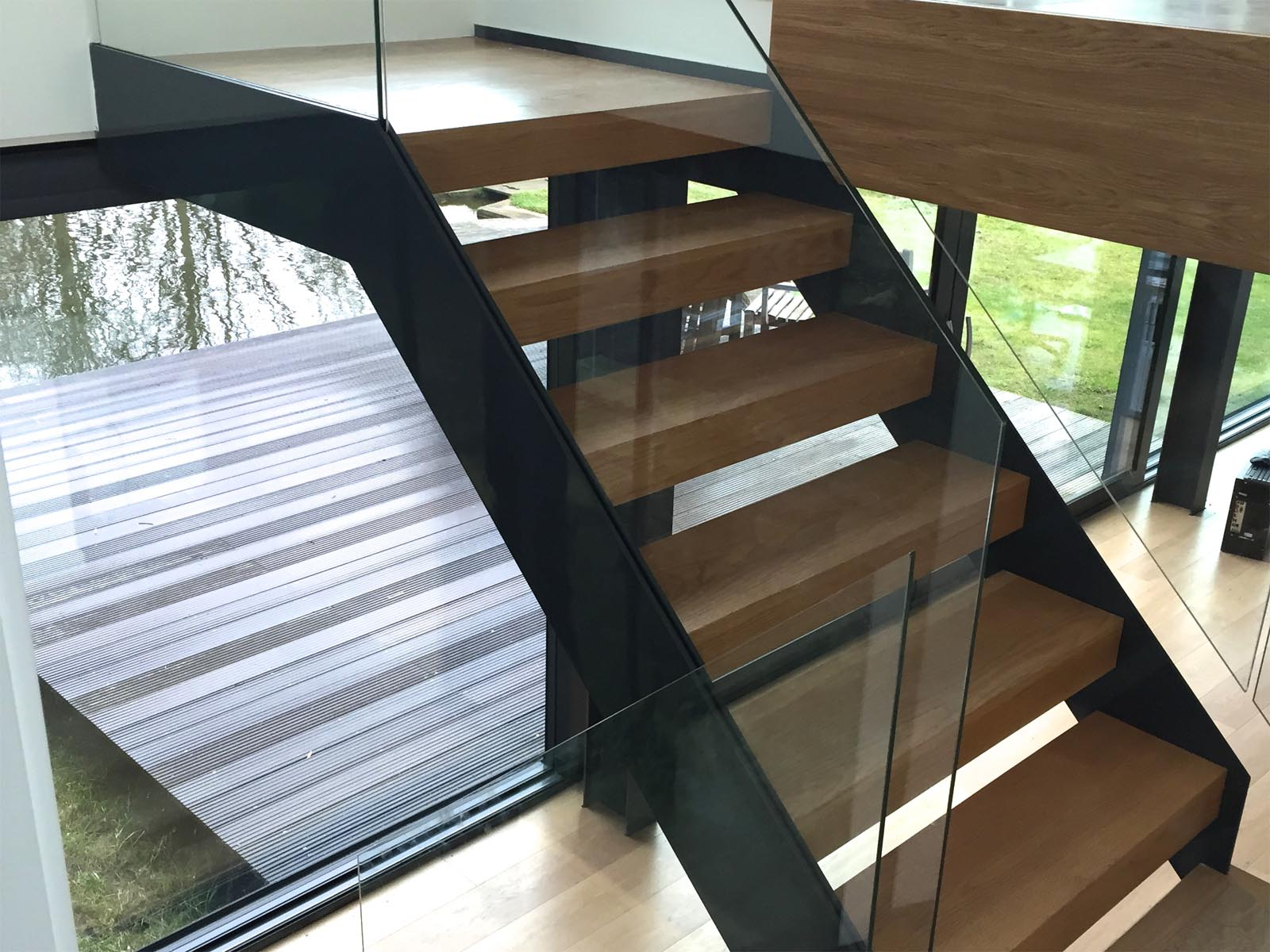 office stairs. rsa head office stairs