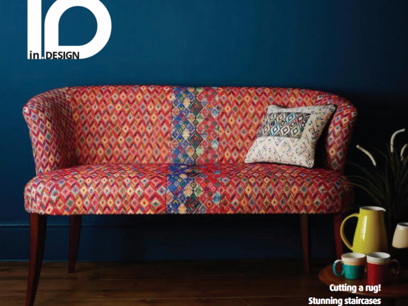 Zigzag Feature in In Design Magazine