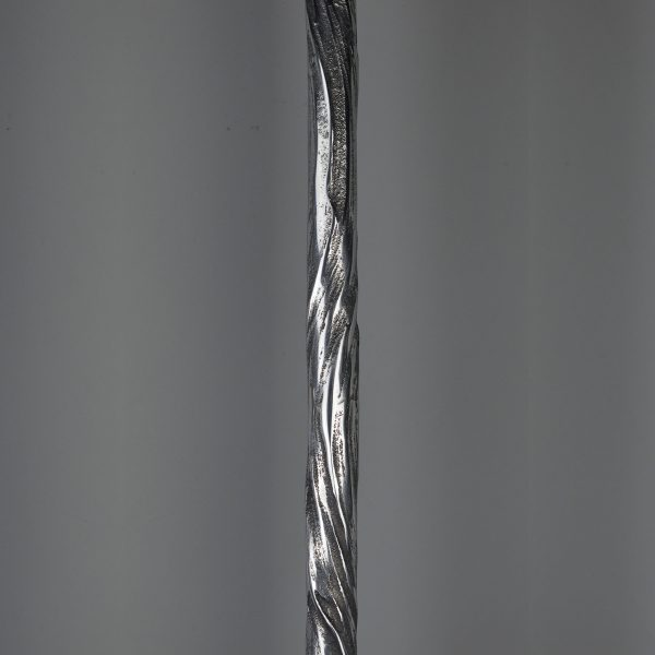 Swirl Spindle - Bright Aluminium