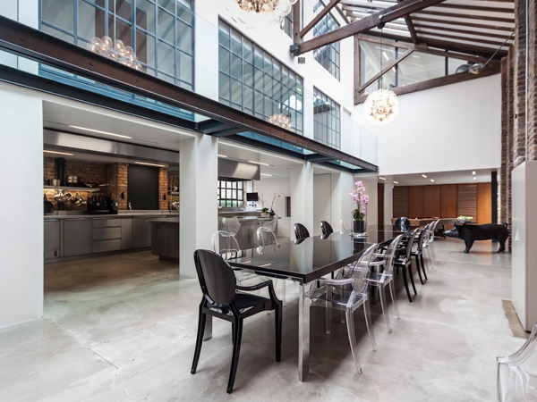 violin factory – dining room