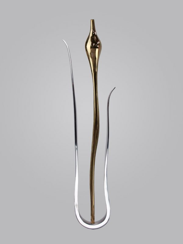 Tulip 2 and Leaf Spindle - Brass & Aluminium