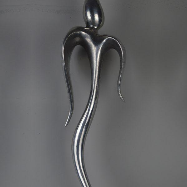 Tulip 1 Spindle - Bright Aluminium