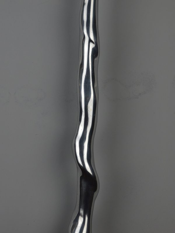 Twisted 4 Spindle - Bright aluminium