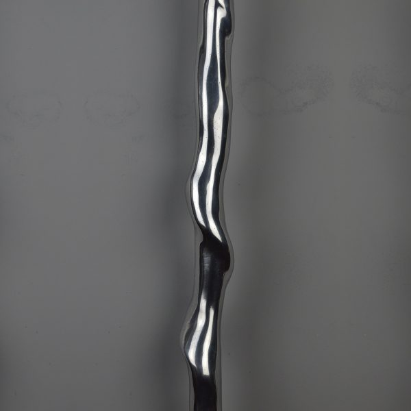 Twisted 5 Spindle - Bright aluminium