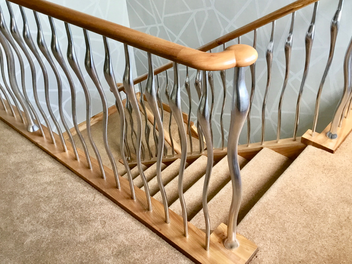 Wisp Balustrade – Bright Polish