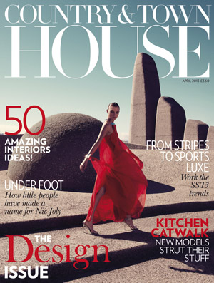 april-cover-country-town-house-mag Zigzag Staircase in Country and Town House Magazine