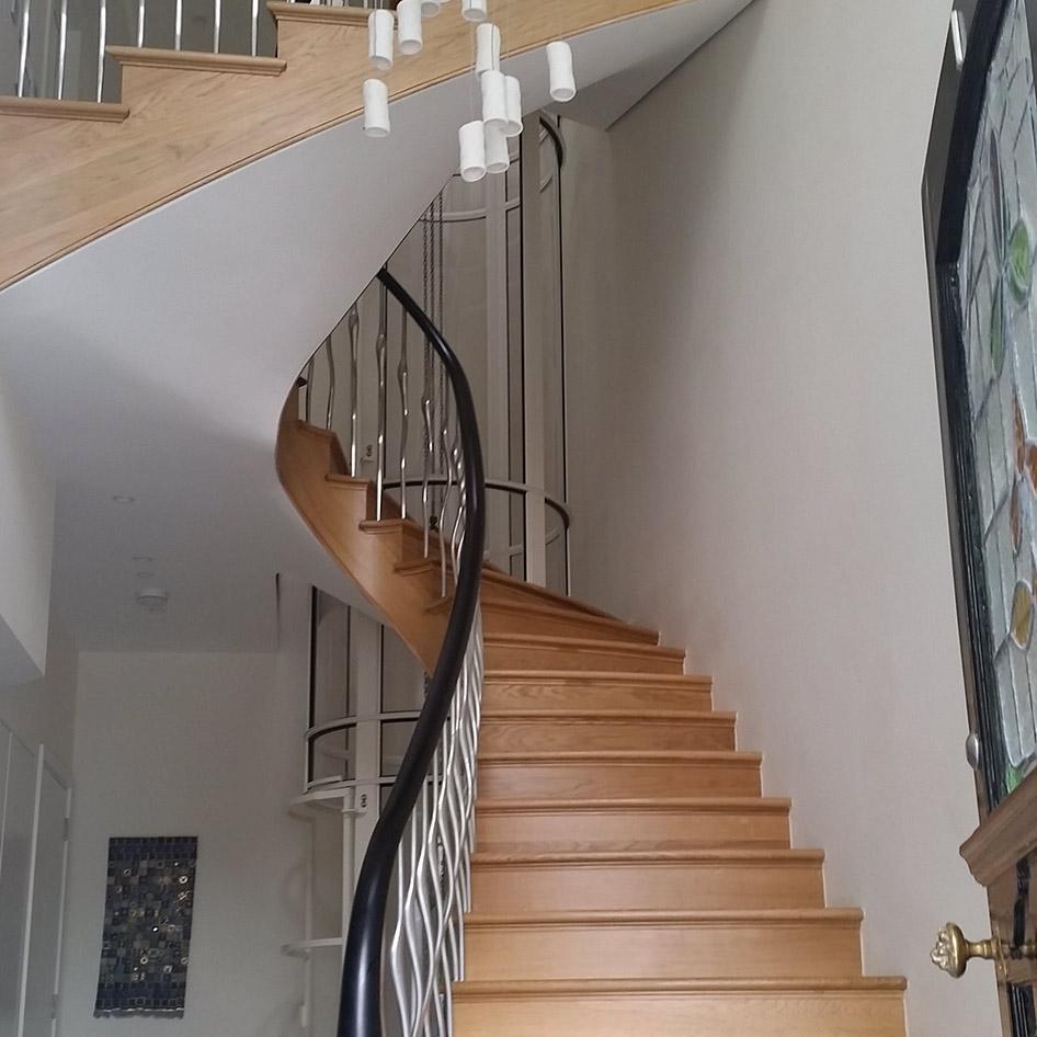 Belsize Park Spiral Staircase