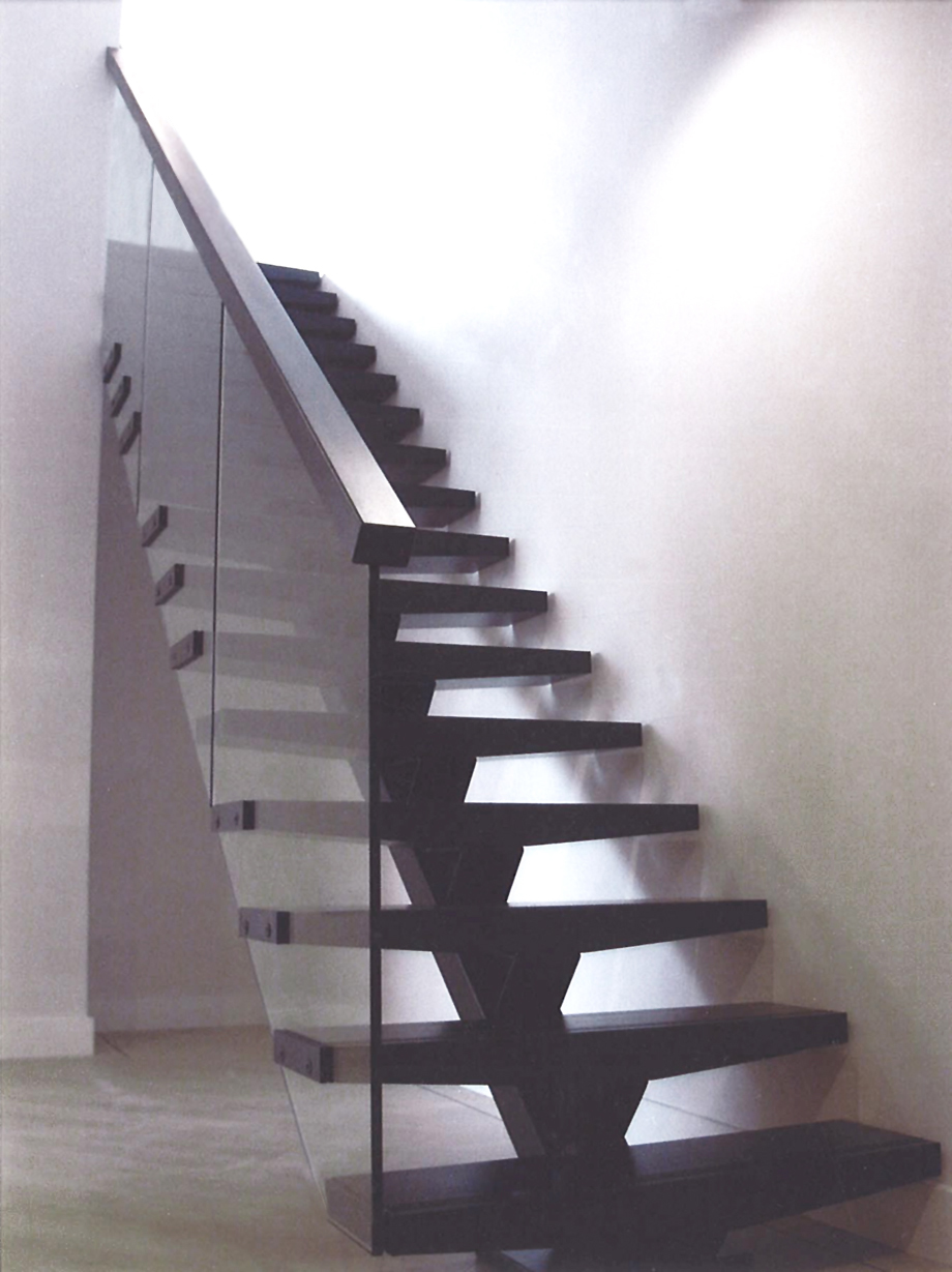 Birmingham Penthouse Stairs