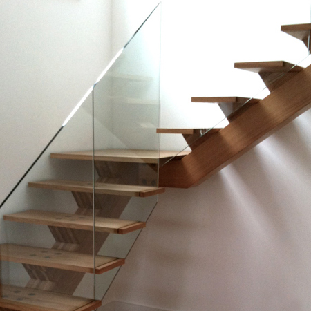 Buckhurst Hill Spine Staircase