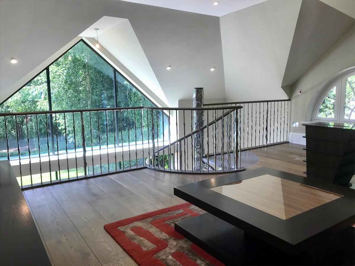 cranley3 Cranley Road Tree Spiral Staircase