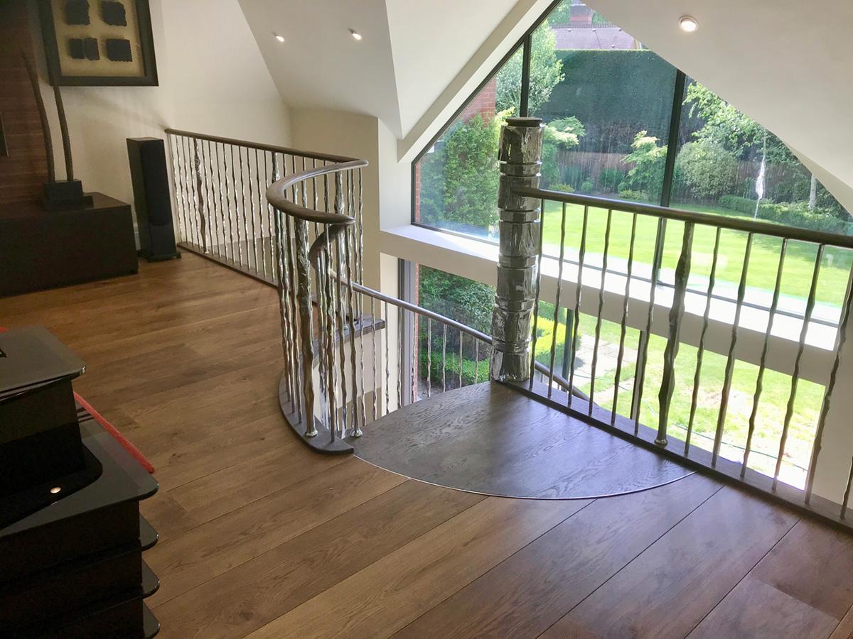 cranley4 Cranley Road Tree Spiral Staircase