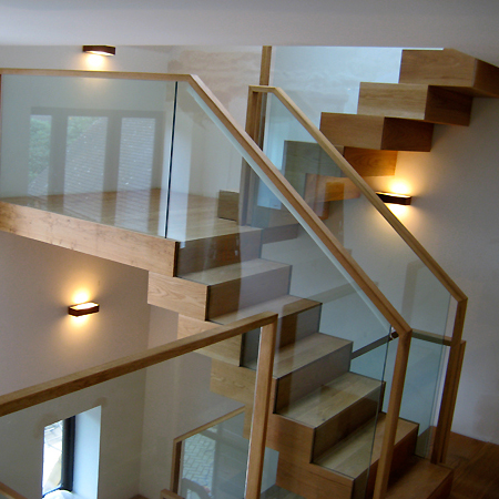 Dorking Floating Stairs