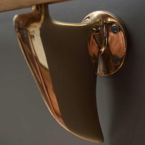 Fin Bracket - Bronze