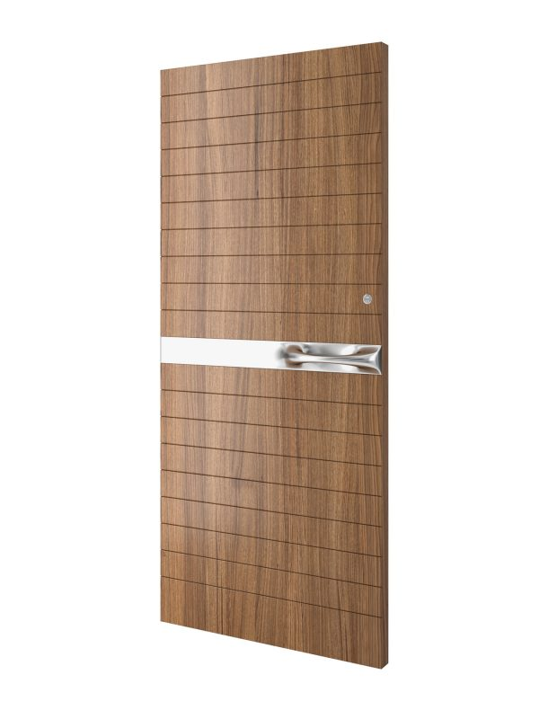Wood Groove Pattern Door