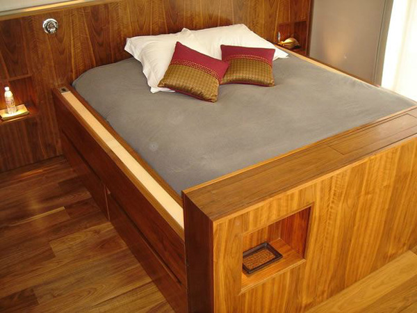 handmade oak beds
