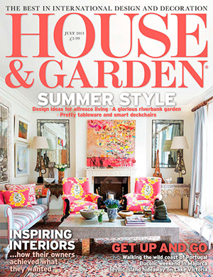 house-and-garden-july-2013-300 Zigzag's Chelsea Staircase in Country and Garden Magazine