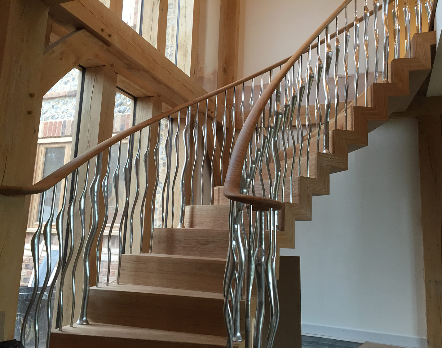 Winchester Zigzag Staircase