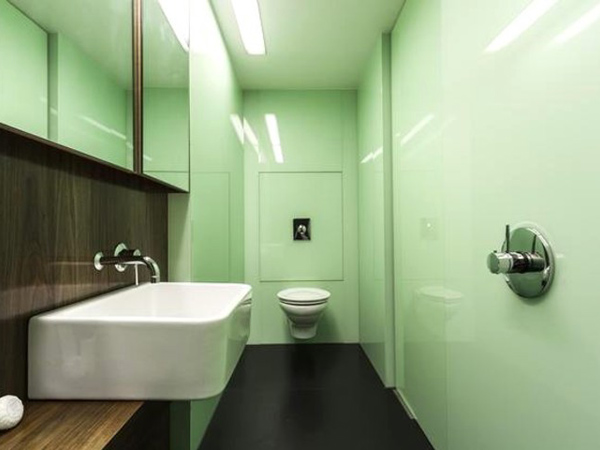 waterloo, violin factory – bathroom