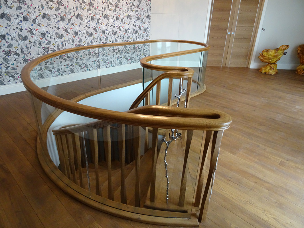 Salisbury: Timber Kidney Staircase