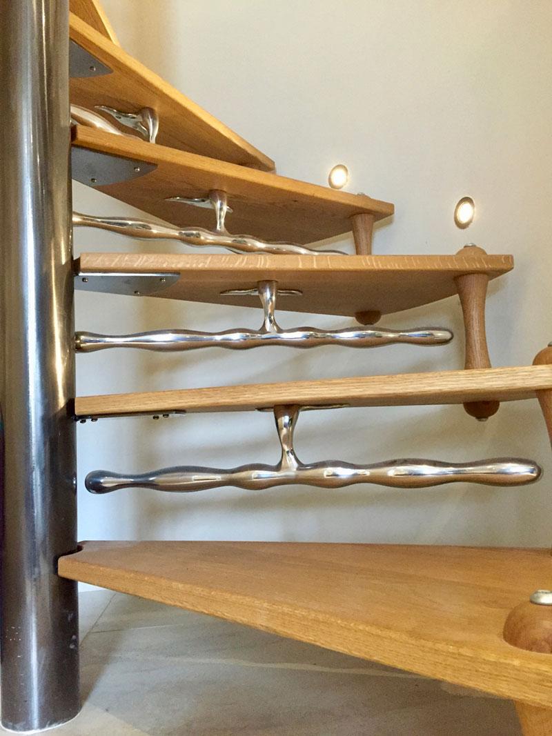 knebworth2 Knebworth Spiral Staircase