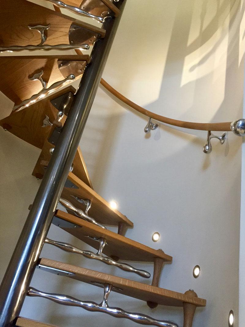 knebworth3 Knebworth Spiral Staircase