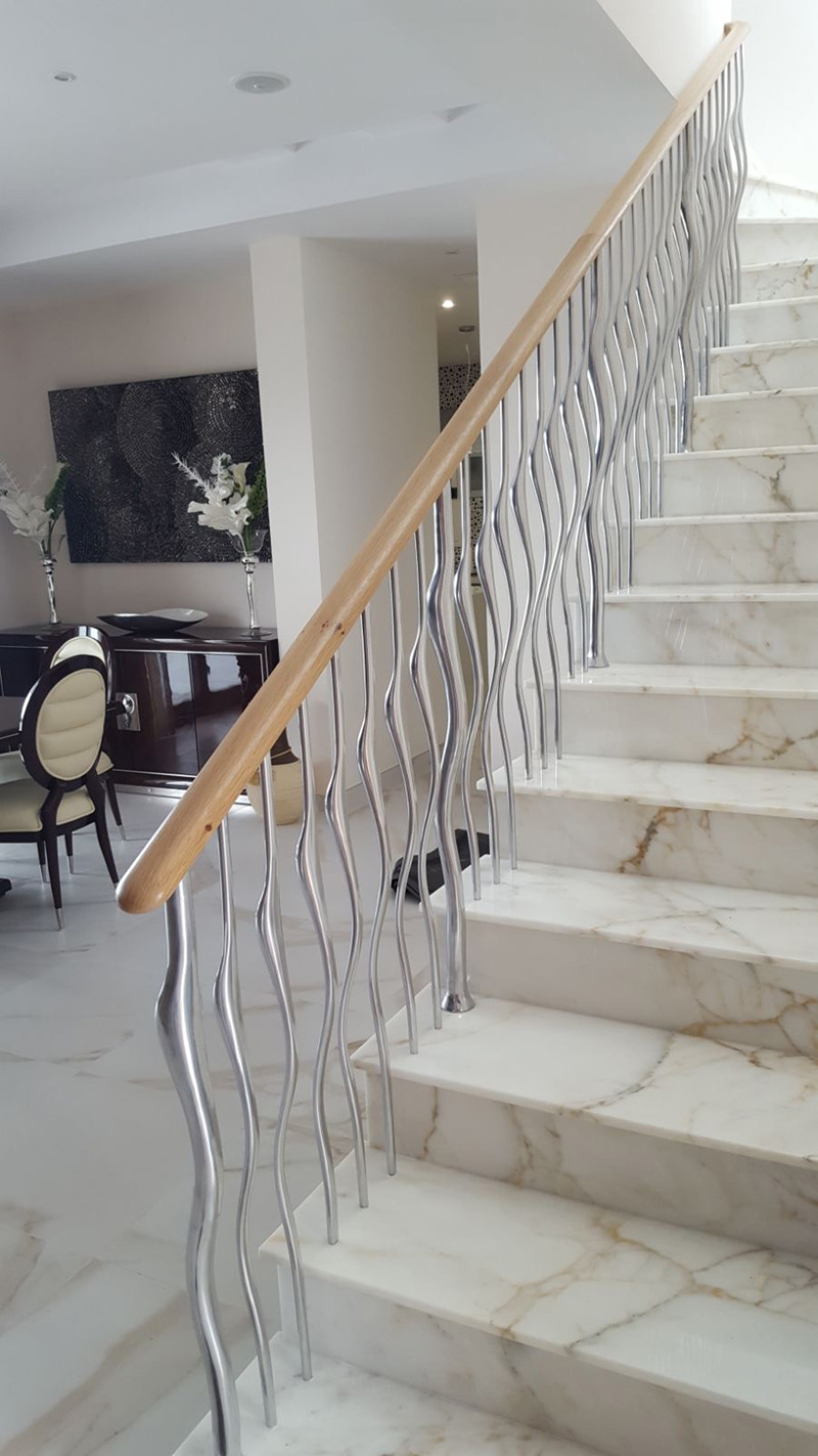Wisp Balustrade Satin Polish