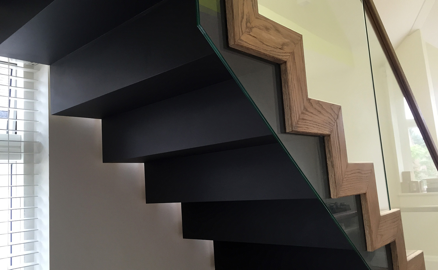 North Oxford: Zigzag Staircase