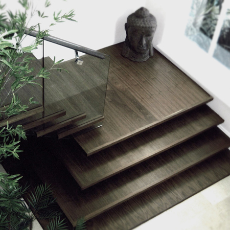Oxshot Walnut Staircase