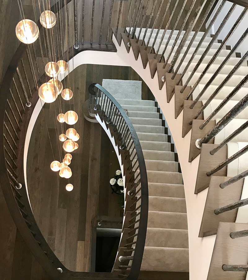 Prowse Avenue Staircase