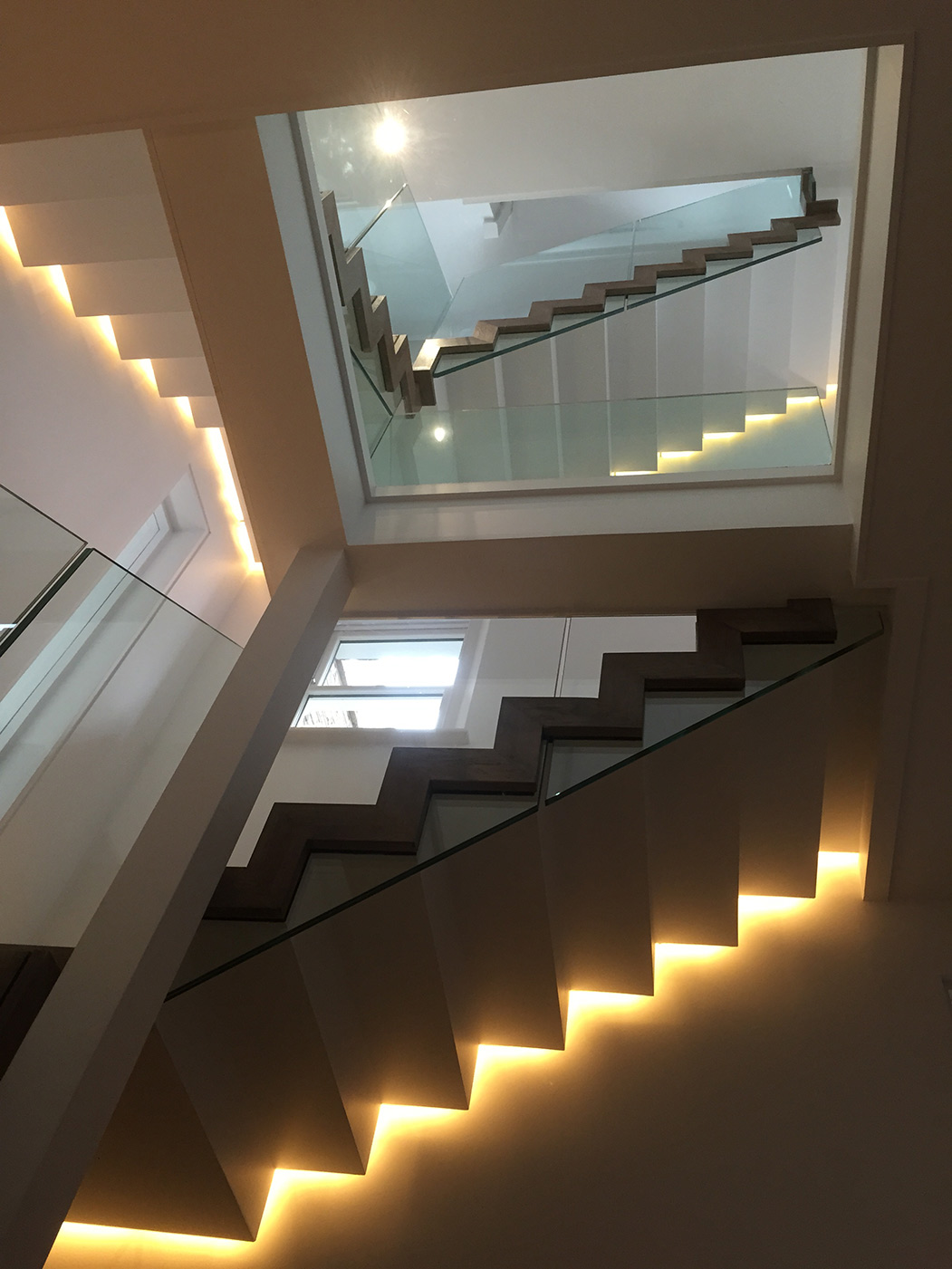 The infinite Escher staircase that features our signature Zigzag stair design