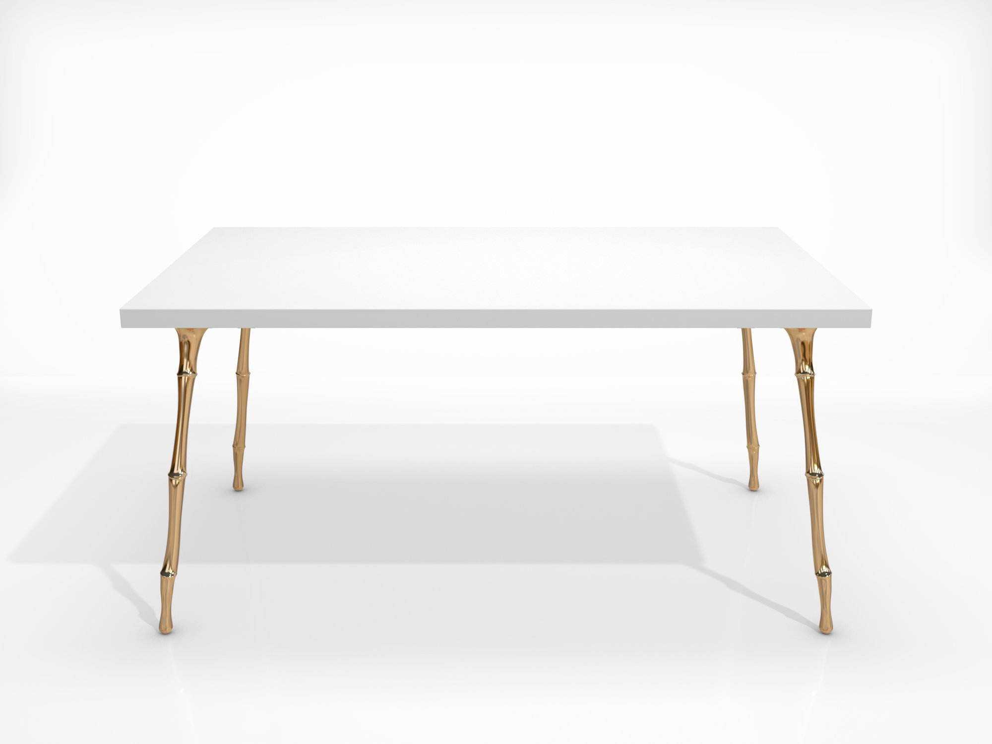 table-bamboo-bronze-polished-white-top-1 Home